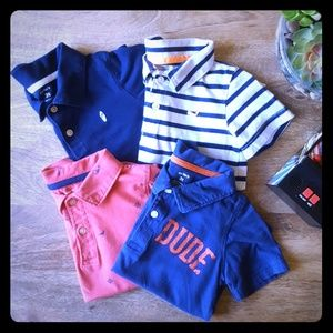 Carter's Nautical Polo Set